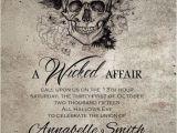 Free Gothic Wedding Invitation Templates Spooktacular Halloween Wedding Invitations Gothic
