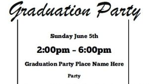 Free Graduation Invitation Printouts Graduation Party Invitations Free Printable