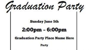 Free Graduation Invitation Printouts Graduation Party Invitations Free Printable
