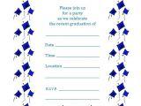 Free Graduation Party Invitations Free Printable Graduation Party Invite – Flying Caps