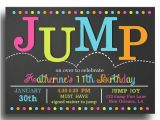 Free Jump Party Invitations Jump Party Invitations Jump Party Invitations Cimvitation