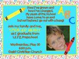 Free Kindergarten Graduation Invitations Preschool Graduation Invitation Free Download