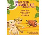 Free Lion King Birthday Invitation Template Lion King Birthday Invitation Zazzle Com
