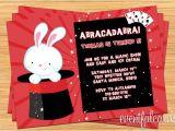 Free Magic Birthday Party Invitation Template Free Printable Magic Show Birthday Party Invitations
