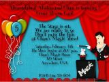 Free Magic Birthday Party Invitation Template Magic Birthday Party Invitations – Bagvania Free Printable