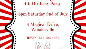 "Free Magic Birthday Party Invitation Template Mother Duck Said ""lets Party "" Magical Birthday Party"
