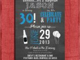 Free Male 21st Birthday Invitations Surprise 21st 30th 40th 50th Chalkboard Style Birthday