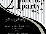 Free Male 21st Birthday Invitations top 14 21st Birthday Party Invitations