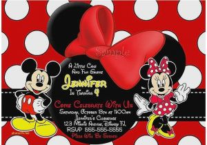 Free Mickey Mouse Baby Shower Invitation Templates Baby Shower Invitation New Free Mickey Mouse Baby Shower