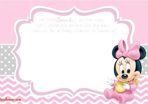 Free Mickey Mouse Baby Shower Invitation Templates Download now New Free Printable Mickey Mouse Baby Shower