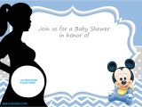 Free Mickey Mouse Baby Shower Invitation Templates Free Printable Mickey Mouse Baby Shower Invitation