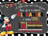 Free Mickey Mouse Birthday Invitation Templates 31 Mickey Mouse Invitation Templates Free Sample
