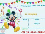 Free Mickey Mouse Birthday Invitation Templates Free Mickey Mouse 1st Birthday Invitations Bagvania Free