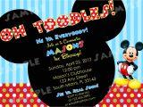 Free Mickey Mouse Birthday Invitation Templates Free Printable Mickey Mouse Invitatons Birthday Free