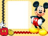 Free Mickey Mouse Birthday Invitation Templates Mickey Mouse Clubhouse Invitation Template Free Download