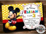 Free Mickey Mouse Birthday Invitation Templates Mickey Mouse Invitation Templates 26 Free Psd Vector