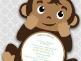 Free Monkey Baby Shower Invitation Templates Best 25 Monkey Invitations Ideas On Pinterest