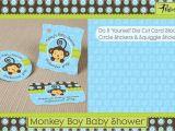 Free Monkey Baby Shower Invitation Templates Design Monkey Baby Shower Invitations Templates Free