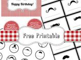 Free Mustache Birthday Party Printables 18 Free Party Printables for Busy Moms Tip Junkie
