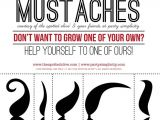 Free Mustache Birthday Party Printables 7 Best Images Of Birthday Printables for Adults Free