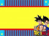 Free Naruto Birthday Invitation Card Dragon Ball Z Free Printable Invitations Oh My Fiesta