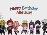 Free Naruto Birthday Invitation Card Naruto Birthday Card Gangcraft Net