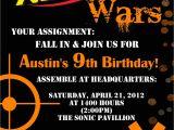 Free Nerf Birthday Invitation Template Nerf Birthday Invitation Printable by Gigglesandgracedesig