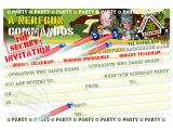 Free Nerf Gun Party Invitations Printable 1 Your Free Downloadable Birthday Party Invitation