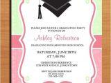 Free Nursing Graduation Invitation Templates Free Printable Graduation Party Invitation Template
