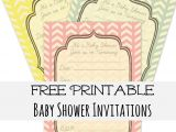 Free Online Baby Shower Invitations to Print Baby Shower Invitations Create Your Own Free