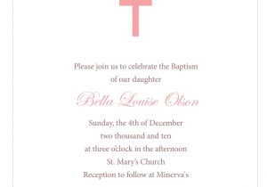 Free Online Baptism Invitations Templates Downloadable Baptismal Invitation