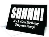 Free Online Surprise Birthday Party Invitations Surprise 40th Birthday Invitations Elegant Surprise