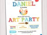 Free Paint Party Invitation Template Kids Invitation Templates 27 Free Psd Vector Eps Ai