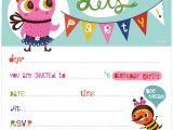 Free Party Invitation Maker Kids Birthday Invite Template Birthday Invitation Maker
