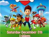 Free Paw Patrol Birthday Invitations with Photo Etsy Your Place to and Sell All Things Handmade