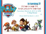 Free Paw Patrol Birthday Invitations with Photo Paw Patrol Birthday Invitations Paw Patrol Birthday