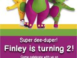 Free Personalized Barney Birthday Invitations Barney Digital Invitation by Preciouspixel On Etsy