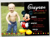 Free Personalized Mickey Mouse Birthday Invitations Birthday Invites Download Best 10 Mickey Mouse Birthday