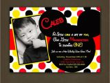 Free Personalized Mickey Mouse Birthday Invitations Mickey Mouse Birthday Invitations Personalized