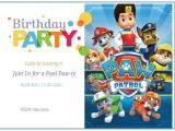 Free Personalized Paw Patrol Birthday Invitations Free Printable Paw Patrol Birthday Invitation Ideas Free