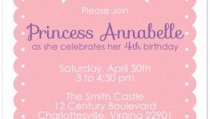 Free Princess Birthday Invitation Template 10 Best Of Free Printable Princess Invitation