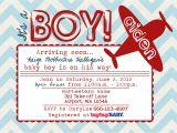 Free Printable Airplane Baby Shower Invitations Airplane Baby Shower Invitations