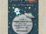 Free Printable Alien Birthday Invitations 26 Best Images About Space Birthday On Pinterest