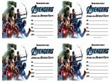 Free Printable Avengers Birthday Party Invitations Avengers Birthday Invitations Free Printable