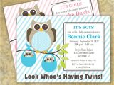 Free Printable Baby Shower Invitations for Twins Boy and Girl Free Printable Baby Shower Invitation for Boys