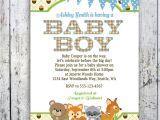 Free Printable Baby Shower Invitations Woodland Animals Free Woodland theme Baby Shower Invitations
