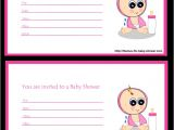 Free Printable Baby Shower Invites for Girl Free Printable Girl Baby Shower Invitations