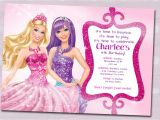 Free Printable Barbie Birthday Party Invitations Barbie Birthday Invitation Samples Invites