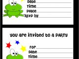 Free Printable Birthday Invitations for Kids Free Printable Birthday Invitation