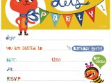 Free Printable Birthday Invitations for Kids orange You Lucky My Printable Birthday Invitation